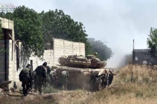 ОФАНЗИВА! Погледајте како сиријка армија од терориста чисти предграђе Дамаска (видео)