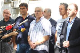 ДФ: Учеснике протеста у Подгорици су батинали и криминалци који су са фантомкама долазили из Скупштине Црне Горе