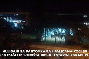 ДОКАЗ! Погледајте видео снимак у коме се види да је Мило Ђукановић послао маскиране нападаче да нападну полицију испред скупштине (видео) 12