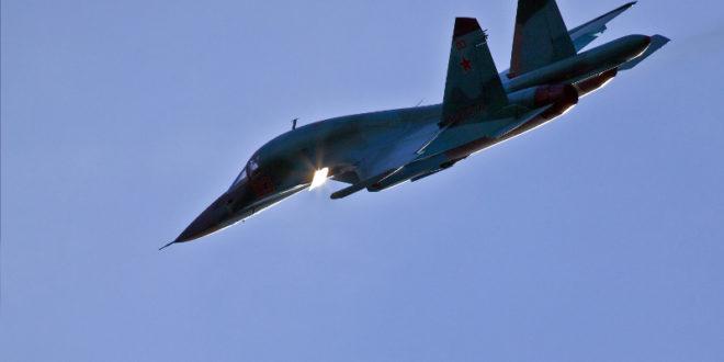 Погледајте најновији руски бомбардер СУ-34 на борбеном задатку у Сирији (видео) 1