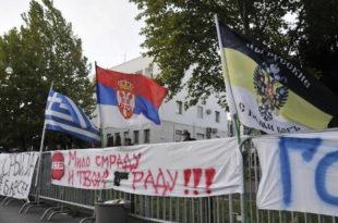 Протест у Подгорици: Дан седми – Нема повлачења док не падне Влада