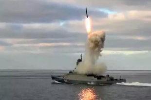 Руска морнарица из Каспијског мора наноси масовне ударе крстарећим ракетама по терористичким циљевима у Сирији (видео) 9