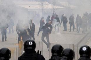 """""""Шиптари од Приштине направили бојно поље"""""""