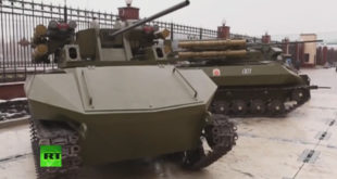 """Руска армија добила """"мозак"""" који аутономно управља целим групама борбених робота 9"""
