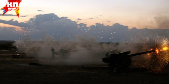 Сиријска армија почела офанзиву великих размера (видео) 1