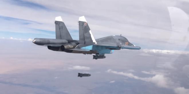 Руска авијација уништила 60 терористичких објеката у Сирији (видео) 1