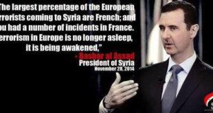 Башар ел Асад: У Француској се јуче десило оно што се дешава у Сирији већ пет година 2
