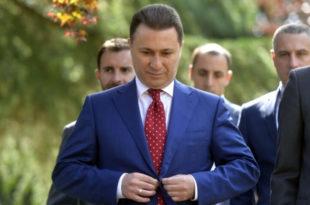 Груевски у Мађарску побегао преко Албаније