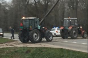 Полиција блокира паоре широм Војводине