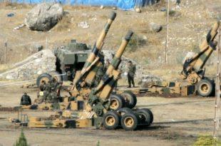 Положаји сиријске армије гађани минобацачима са територије Турске 10