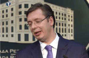 Вучић је шарлатанским причама и неделима ударио на разум и част читаве Србије!