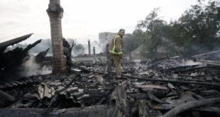 Украјинска наци хунта већ сатима гранатира Доњецк