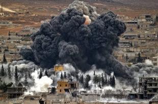 Руски Су-34 код Раке потпуно уништили зграду са главешинама Исламске државе 1