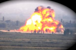 Погледајте како курдска ПКК шаље турске командосе у небо (видео)