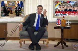 Да ли је тим за управљање Вучићевим кабинетом у ствару продужена рука британских специјалних служби? 3