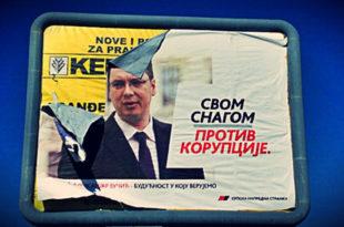 Вучић кабинет је легло системске корупције и криминала који изнутра као паразит изједа Србију и народ