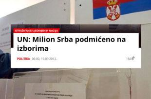 Патриотски блок КиМ: СНС на КиМ спрема уз помоћ OSCE велику изборну крађу