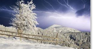Гром загрми на Светога Саву, усред зиме, кад му време није (видео) 22