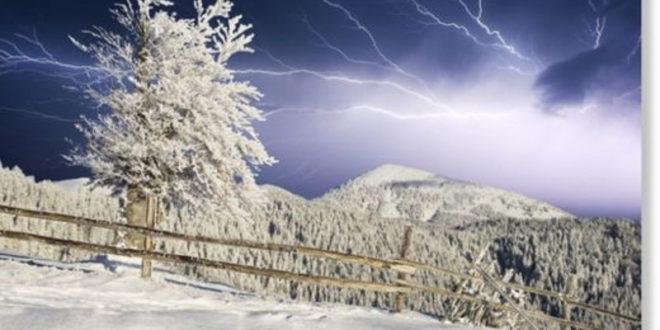 Гром загрми на Светога Саву, усред зиме, кад му време није (видео) 1