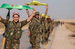 Курди напредују ка турској граници а руски авиони чисте све пред њима