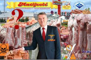 """Видео снимци из Индустрије меса """"Матијевић"""" предати Тужилаштву за организовани криминал (видео)"""
