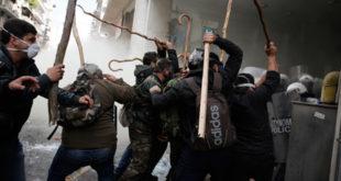 Атина: Овако знају да бију само сељаци (видео) 9