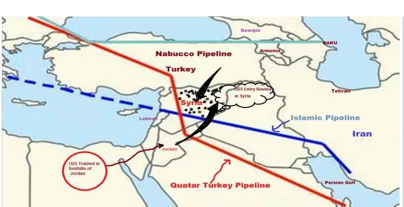 катарски гасовод за европу преко турске