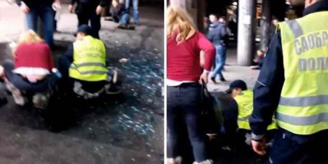 Мигрант из Ирака у центру Београда избо ножем полицајца приликом покушаја пљачке! (видео)