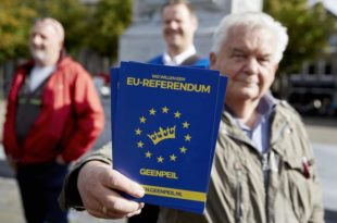 РАСПАД ЕУ: Холандија напушта ЕУ!