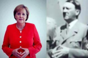Читава Европа је госпођо Меркел ЗГАЂЕНА док гледа вас и Немце како по трећи пут за мање од 100 година уништавате Европу!