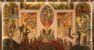 У згради УН на муралу осликана визија будућег света којим владају демони