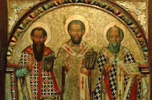 Верници данас славе Света три Јерарха