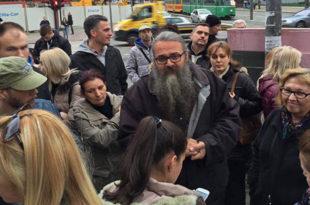 Београд: Протест за спас Ваљевске Грачанице (видео)