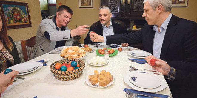 Прослава католичког Ускрса: Борис и Чеда се потуцали 1