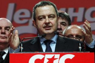 Издао си Милошевића, левицу, раднике, полицију, породицу, Русију, Србију, све си издао и продао!