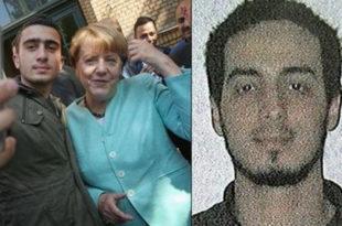 Меркелова се сликала са терористом-самоубицом са бриселског аеродрома?