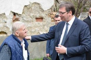 Босна: Вучић у посети завичају