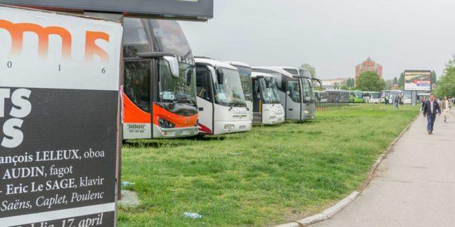 Како је протекло окупљање НАПРЕДНОГ ЦИРКУСА у Новом Саду где су ботови довучени у више од 300 аутобуса (фото, видео)