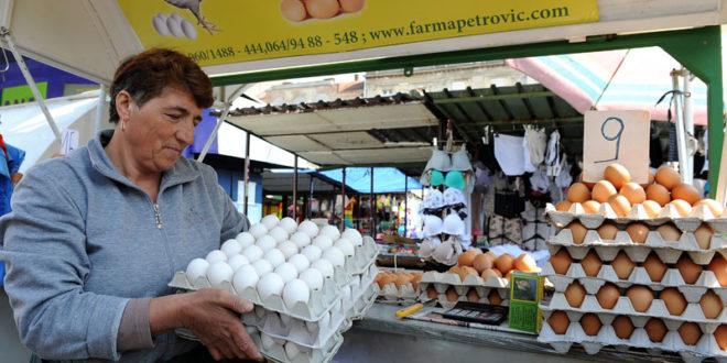 Српска јаја не могу у Европу
