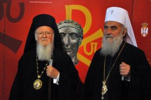 Отворено писмо светогорских стараца о престанку помињања васељенског патријарха