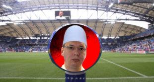 Само захваљујући Вучићу лажна држава Косово примљена у УЕФА 2