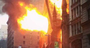 Ватрогасци: Неугашене свеће изазвале пожар у српској цркви у Њујорку 12