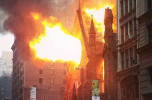 Ватрогасци: Неугашене свеће изазвале пожар у српској цркви у Њујорку
