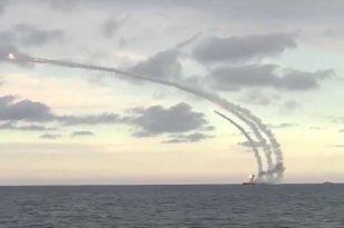 """Руски бродови наоружани са крстарећим ракетама """"Калибар"""" кренули са Крима у Средоземно море"""