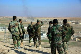 Сиријска армија надире према Раки коју је Исламска држава прогласила за своју престоницу