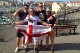 Енглески хулигани гологузи бежали испред Пољака у Ници