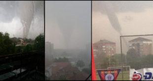 У Панчеву и Смедереву град величине парадајза зачињен са торнадом (видео)