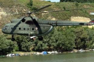 БЕЗБЕДНОСТ НА НИВОУ! Војска спала на два транспортна хеликоптера стара 36 година