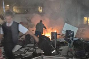 Две експлозије на аеродрому у Истанбулу, велики број повређених 8