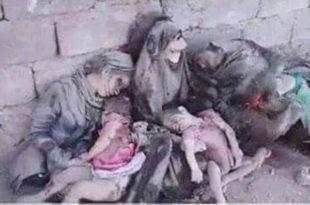 Француско ваздухопловство у Сирији масакрирало комплетне породице невиних Сиријаца (фото 18+)